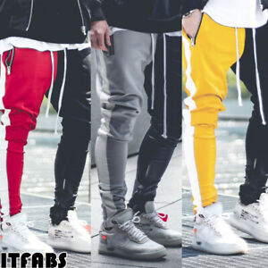 Men-Sports-Gym-Pants-Slim-Fit-Running-Joggers-Casual-Long-Trousers-Sweatpants