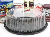 9 Display Cake Containers For 1-2 Layer Cakes.g25 - Usa Made - Free S&h