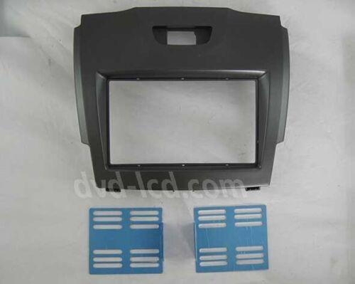Car Radio Fascia Stereo frame facias for Chevy Trailblazer Isuzu Dmax Bezel Kit