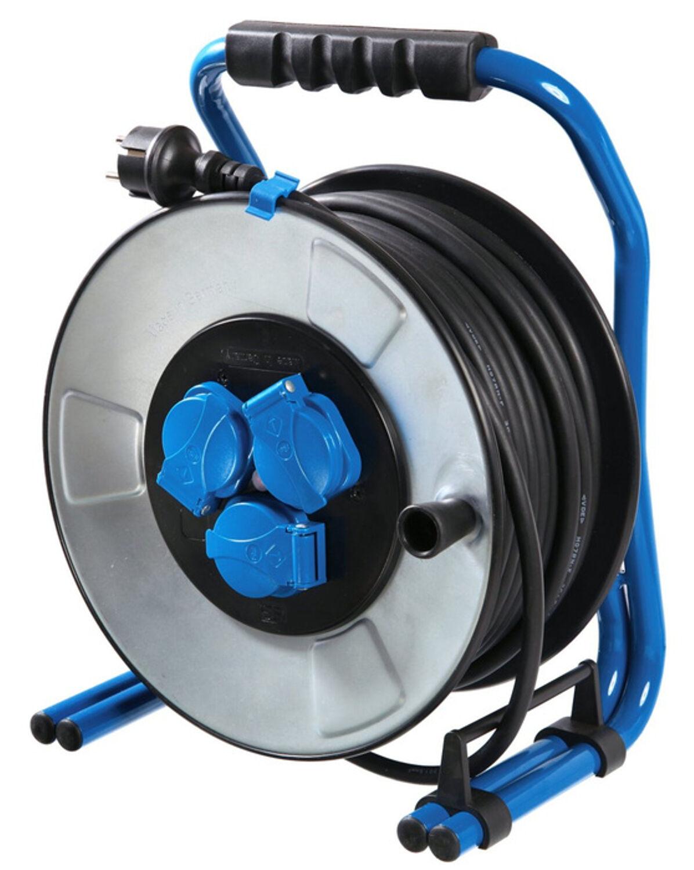 AS Schwabe IronCoat Metall-Kabeltrommel 285 mm Durchmesser 10723 33m Neuware