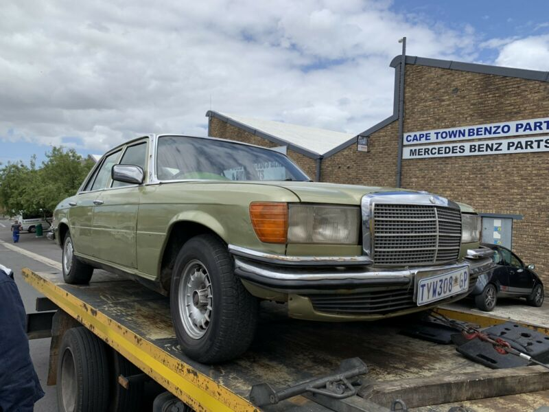 BENZO PARTS NOW STRIPPING: 1980 MERCEDES-BENZ 280S MANUAL RUNNER W116 SERIES
