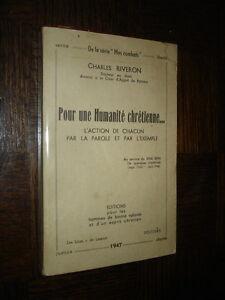 POUR-UNE-HUMANITE-CHRETIENNE-Charles-Riveron-envoi-1947