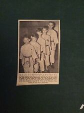 G1-1  Ephemera 1965 picture t jones st ives judo colin brian arlene