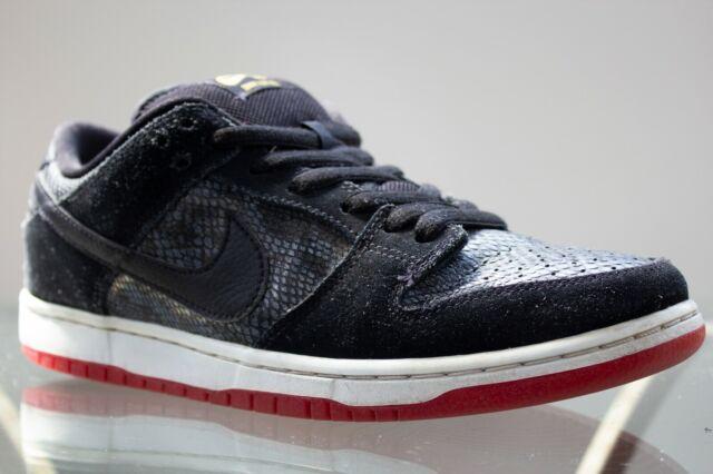 on sale 0367e 631b3 Nike Dunk Low Premium SB Snake Eyes 313170 017 Size 8.5