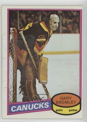 1980-81 O-Pee-Chee # 330 VG-NM Gary Bromley Hockey Card
