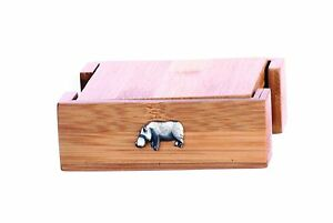 Hippo Coffee Table Coasters Stacked Set Made Of Sustainable Bamboo - Hippo coffee table