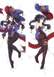 "Anime Venti Genshin Impact Dakimakura Cover Game Hugging Body Pillow Case 59/"""