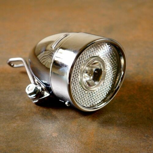 Front//Rear s Still Classic Vintage Metal Road City Bicycle Light