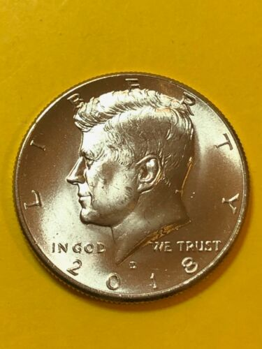 KENNEDY 2018D UNC FREE SHIPPING