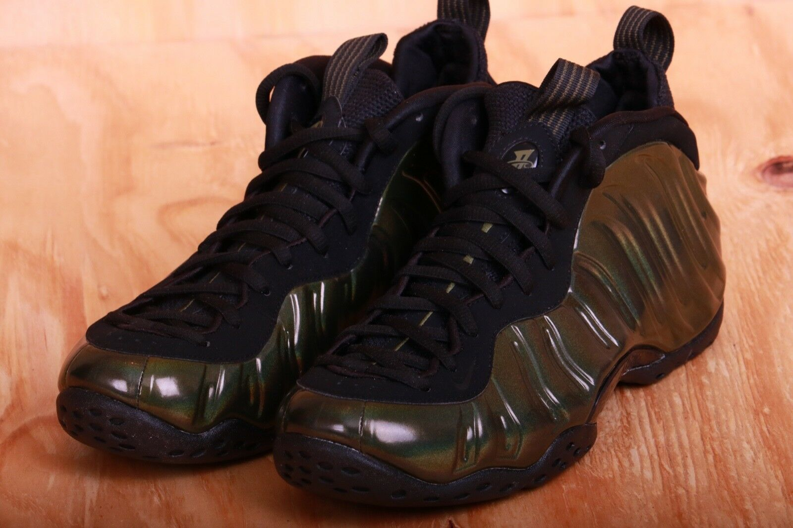 03d21be3d4 Nike Air Foamposite One Albone gold Red 314996 301 Size 9.5 Legion Green  ntalgh124-Athletic Shoes