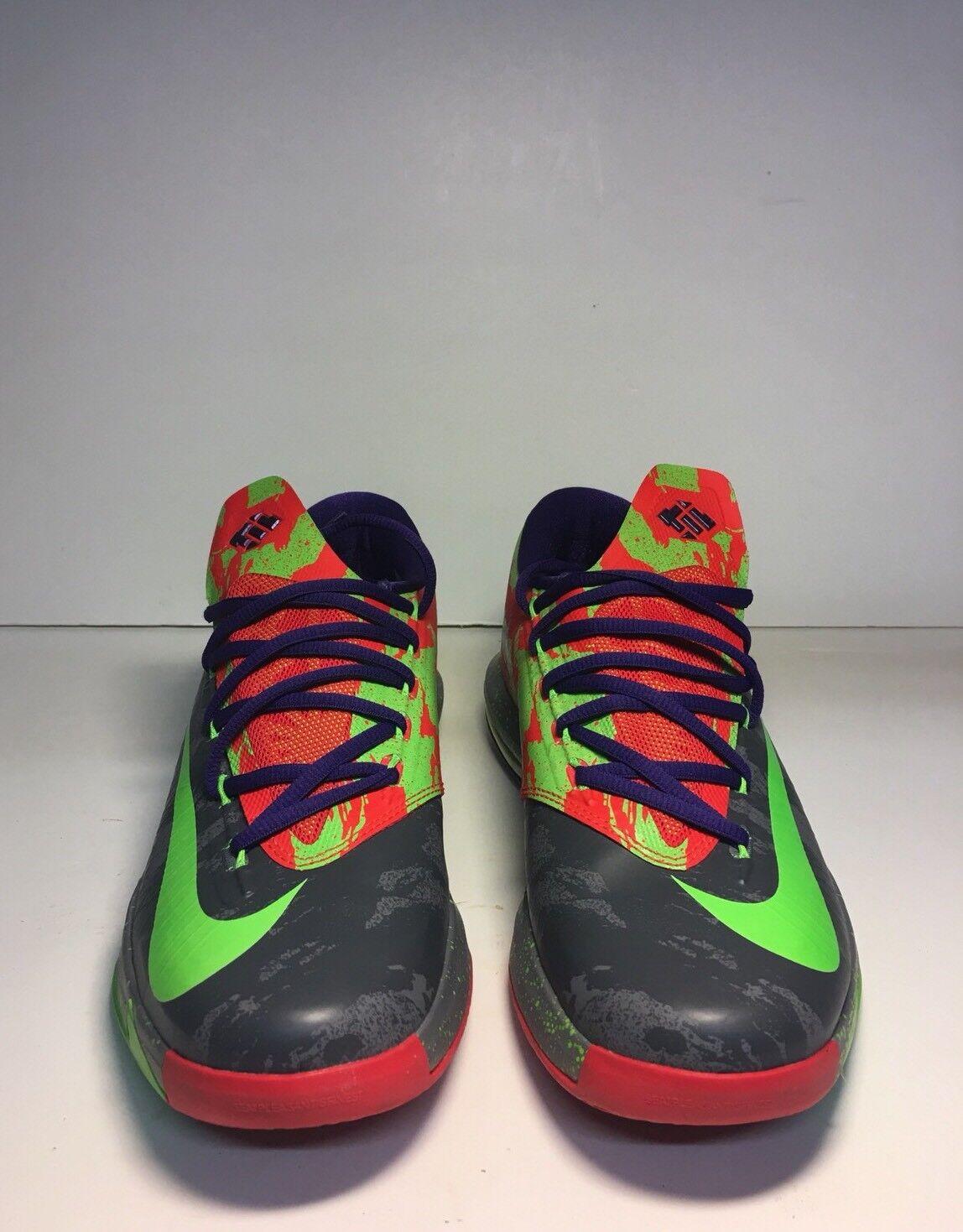 Nike kd 6 kühle graue graue graue electric green - männer - größe 9 basketball - schuhe b971a5
