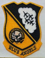 Blue Angels Seal Patch Us Navy Air Training Command Iron-on Patch
