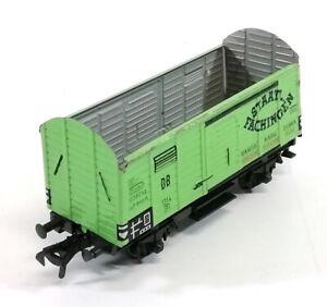 Fleischmann-HO-OO-1214-Staatl-Fachingen-Tin-Plate-Model-Train-Vintage-688EA