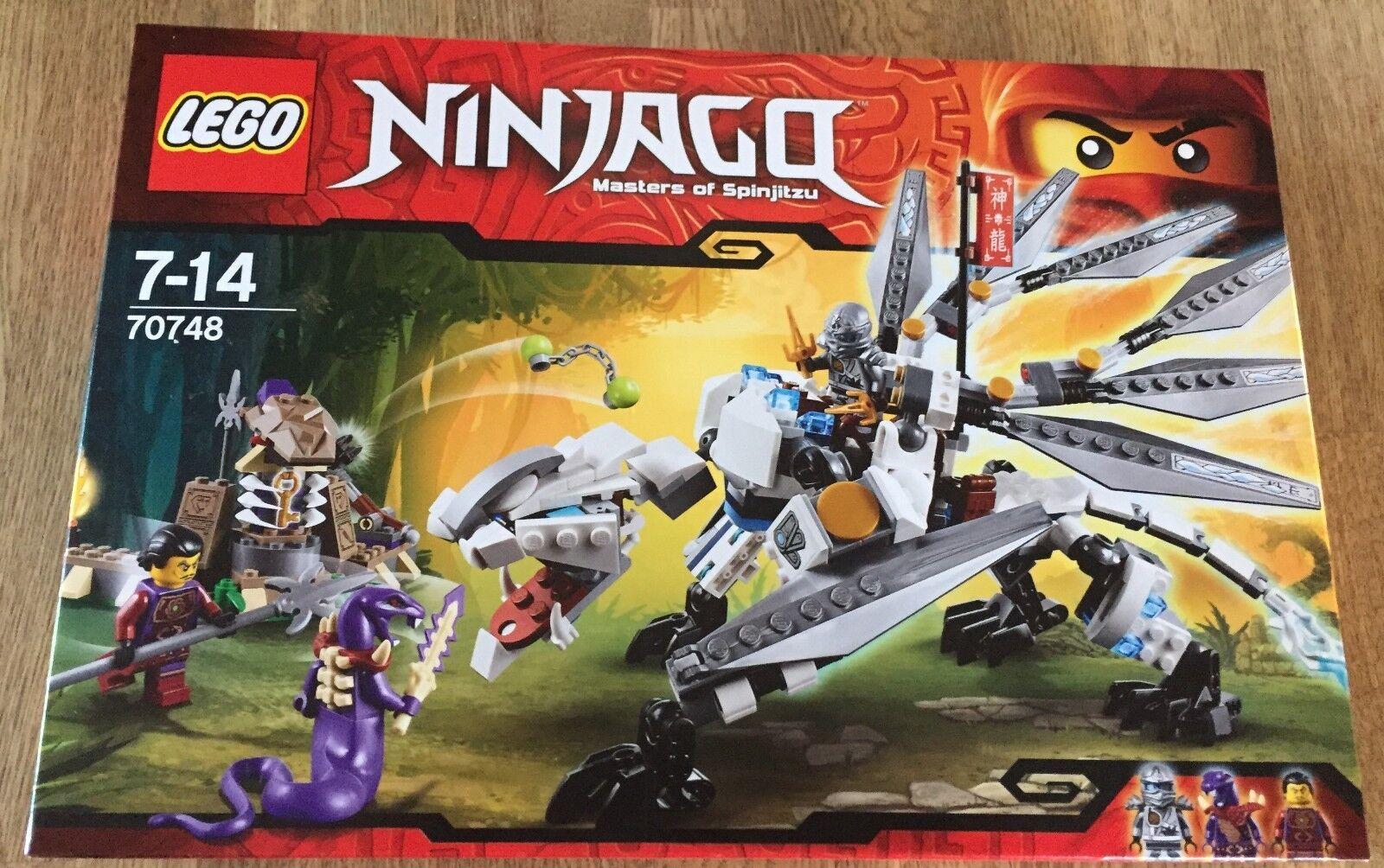 LEGO NINJAGO 70748 - Titandrache NEU OVP   SEALED Zane Clouse Chop'rai