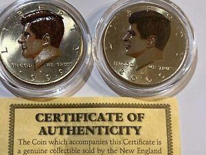 2010-2019 Kennedy Half Dollar Mint Set BU Run 20 US Coin Lot
