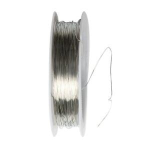 Rouleau de Ruban 22m Fil de Metal pour Fabrication de Bijoux Projet Artisan G4S8