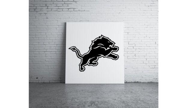 "2X  Detroit Lions  5.5/"" NFL Football Team Logo Car Window Vinyl Decal Sticker"