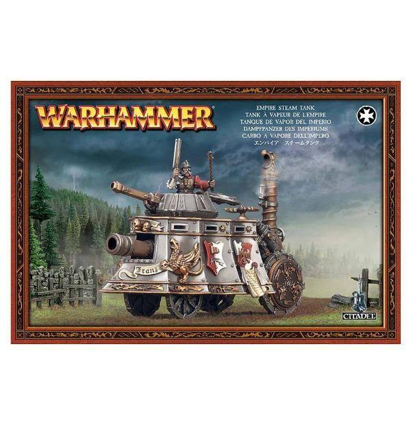 WARHAMMER Fantasy Sigmar Empire Steam Tank Carro a Vapore dell'Impero NEW  NSF3