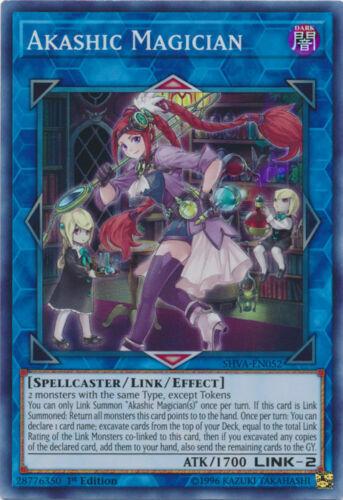 Yugioh Akashic Magician Super Rare SHVA 1st Ed Mint