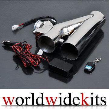 "3"" EXHAUST CATBACK TURBO ELECTRIC E CUTOUT VER 2 VW VAG 1.8T GOLF R32 GTI JETTA"