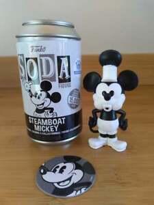 Funko Soda Steamboat Mickey Mouse Figure - LE 1/2500 Funko Shop Exclusive Chase