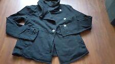 Converse One Star black sweatshirt material jacket women's medium M