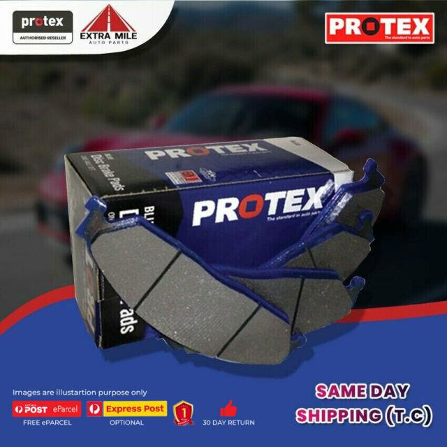 Protex Blue Brake Pad Set Front For Mitsubishi Verada 3.0 i (KR) Petrol 91-94