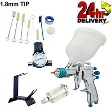 Devilbiss Slg 620 18mm Spray Gun Gravity With Stand Gauge Filterampcleaning Kit