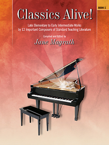 """classics Vivant! Book 1"" Tard Elementary-early Intermediate Piano Music Book-neuf-ly Intermediate Piano Music Book-new Fr-fr Afficher Le Titre D'origine"