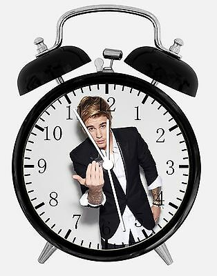 "Alarm Justin Bieber Alarm Desk Clock 3.75"" Home Or Office Decor E318 Nice For Gift Geurig Aroma"