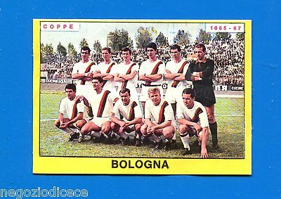 BOLOGNA New FURLANIS Figurina-Sticker Nuova CALCIATORI PANINI 1966-67