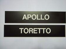 "HORSE STALL BARN STABLE SIGN Custom Engraved Large 10""x 2"" Plastic Laminate"