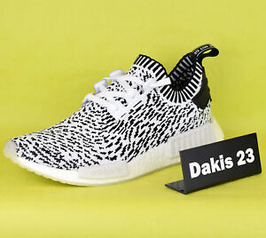 c604020e6 adidas Originals NMD R1 PK Primeknit Zebra Pack Men Sneakers White ...