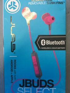 8a272f3e715 Image is loading JLab-Rock-Rugged-Earbuds-Red
