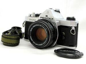 EXC-Pentax-MX-SLR-Film-Kamera-mit-SMC-Pentax-M-50mm-f-2-Lens-aus-Japan