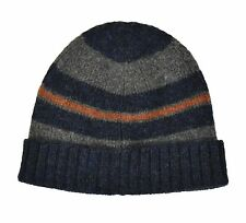 Ralph Lauren RRL Blue Wool Winter Hat Beanie New $115