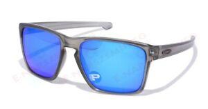 Oakley Sliver XL POLARIZED Sunglasses OO9341-03 Matte Grey Ink W/ Sapphire Lens