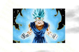 Home Dcor Dragon Ball Z Vegeta NEW POSTER ORIGINAL DESIGN MOVIE ...
