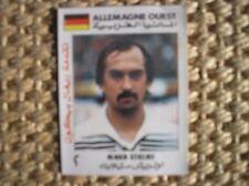 STIELIKE GERMANY REAL MADRID MUNDIAL ESPANA 82 1982 WORLD CUP FIGURINA CARD ARAB