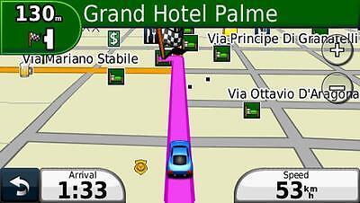 2019 France and Belgium navigation map set for Garmin GPS on MicroSD card