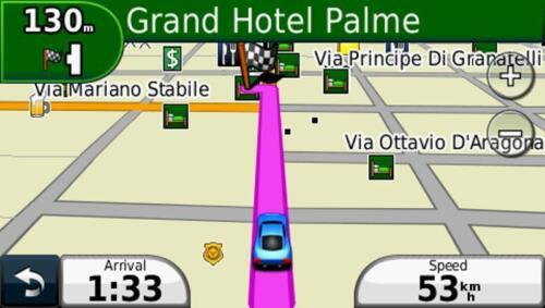 2019 Italy and Greece car navigation map set for Garmin GPS on MicroSD card