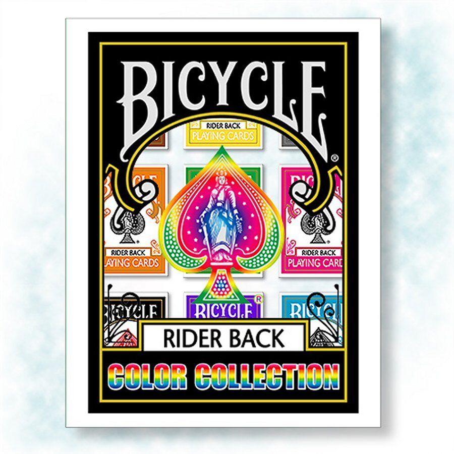 Bicycle Farbe Collection - Set of 9 Decks Poker Spielkarten