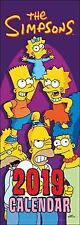 The Simpsons Official 2019 Slim Wall Calendar New & Sealed