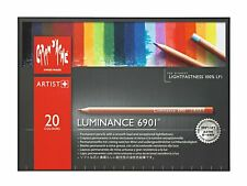 Creative Art Materials CARAN D'ache Luminance Colored Pencil Set of 20 SwissMade