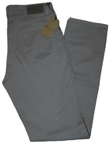 Pantalone-uomo-jeans-HOLIDAY-46-48-50-52-54-56-58-60-cotone-estivo-grigio-ETAN