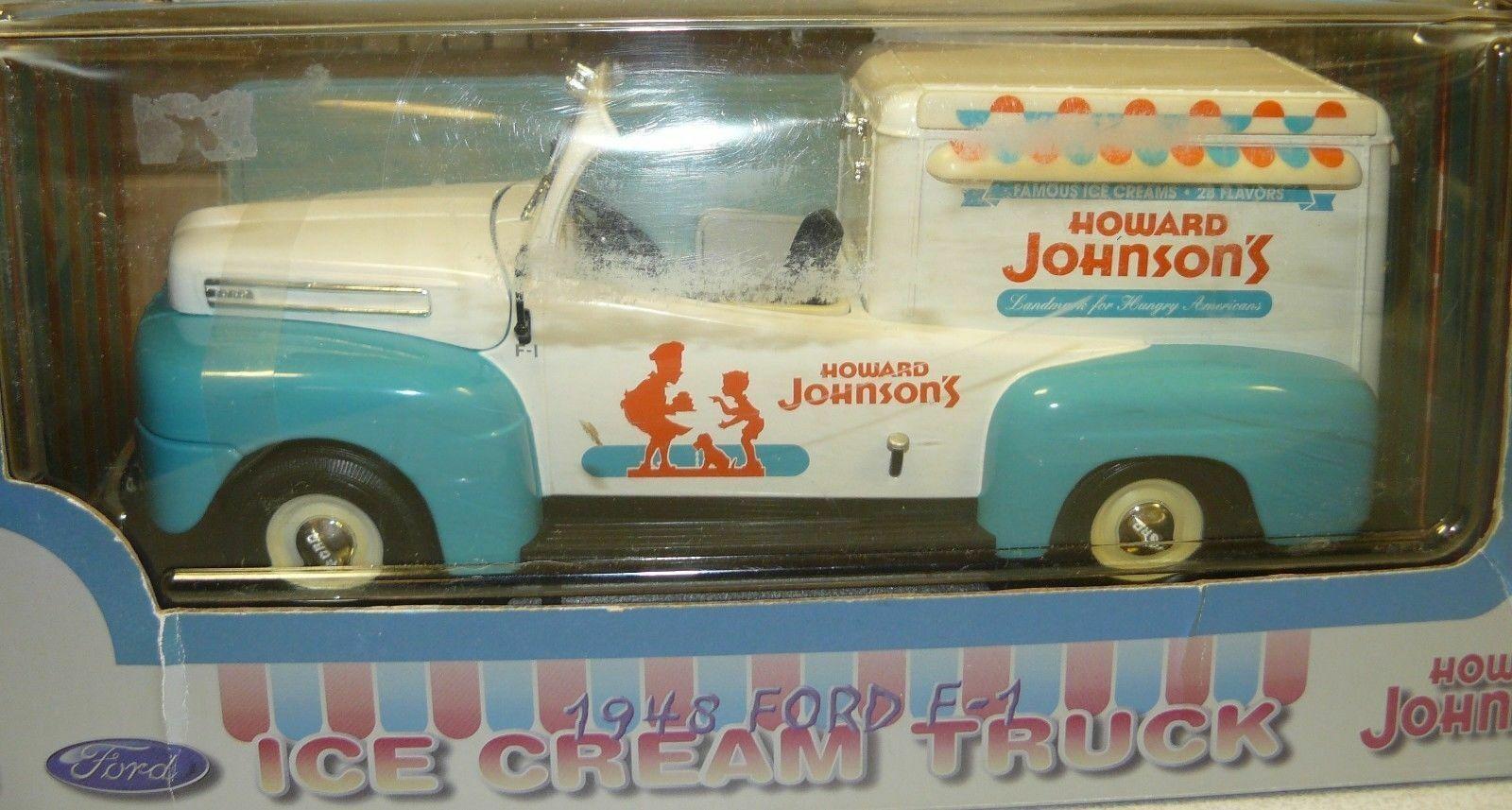 1 18 Howard Johnson 1948 Fors camión de helados