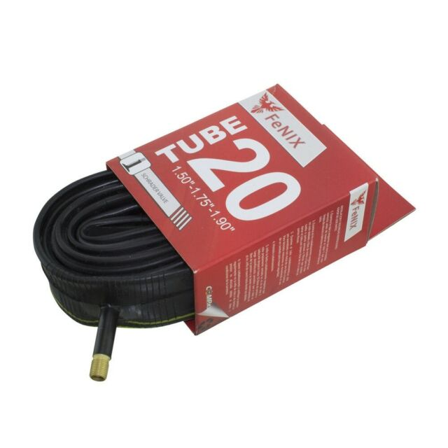 Sunlite Bicycle inner Tube 20x1.50-1.95 32mm Schrader valve kids bike 63633
