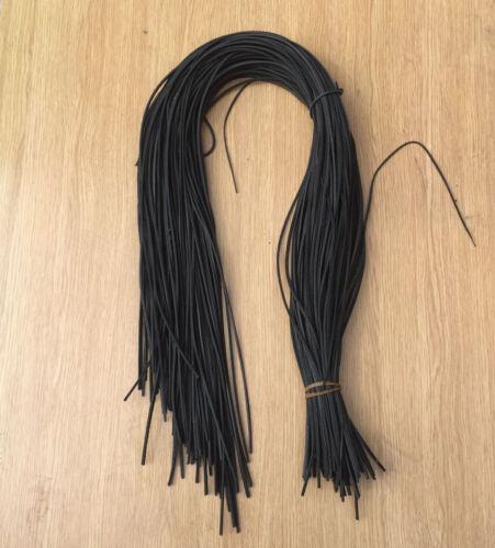 100/% Cuir véritable 2-3 mm Cordes Dentelle String Bijoux Making Lacets Lot UK Made