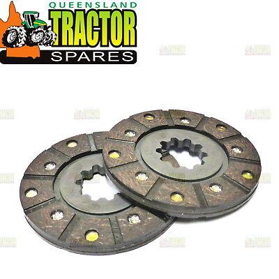 Brake Disks Super Hv Pair Of International / Farmall H Super H Super W4 Etc