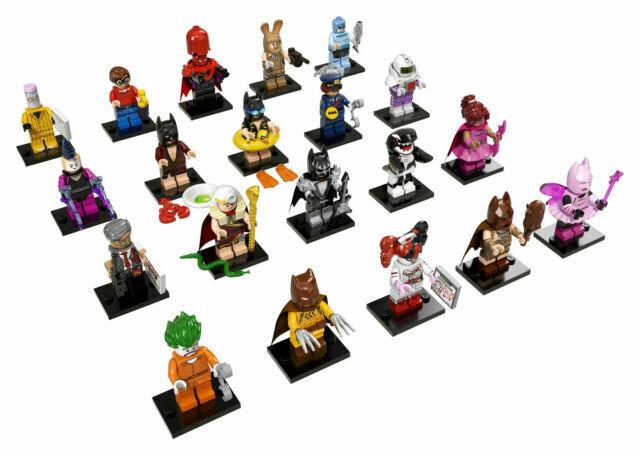 Sealed Box Case of 60 Blind Bags Minifigures 71017 Lego Batman Movie Series